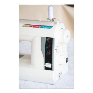 Modern sewing machine 14 cm x 21.5 cm flyer