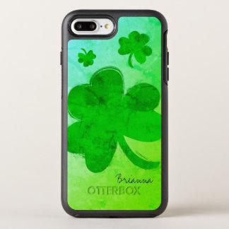 Modern Shamrock Personalized iPhone 7 Plus Case