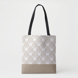 Modern Shell Pattern Tote Bag