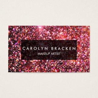 Modern Shimmering Pattern Business Card