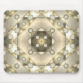 Modern Silver Gold Mousepads