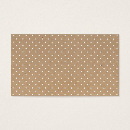 Modern simple brown craft paper polka dots pattern