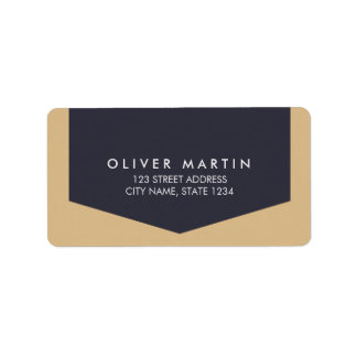Modern & Simple Classic Address Labels