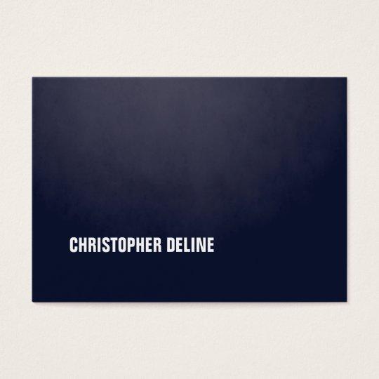 Modern Simple Elegant Texture Blue WhiteConsultant Business Card