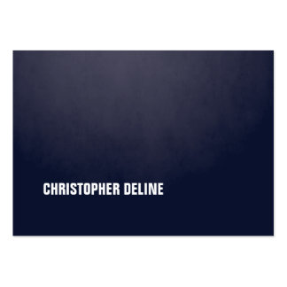 Modern Simple Elegant Texture Blue WhiteConsultant Pack Of Chubby Business Cards