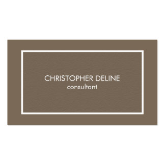 Modern Simple Elegant Texture Brown Attorney Pack Of Standard Business Cards