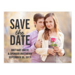 Modern Simple Save the Date
