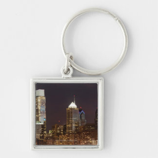 Modern skyscrapers of Philadelphia downtown Key Ring