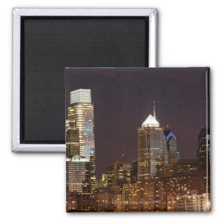 Modern skyscrapers of Philadelphia downtown Magnet