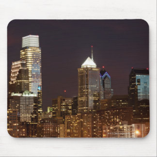 Modern skyscrapers of Philadelphia downtown Mouse Mat