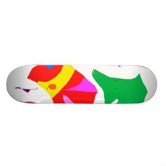 Modern Sofa Relax Raindrops Sound Fairy Skateboard Deck