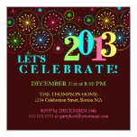 Modern Sparkle New Years Eve Party Invitation