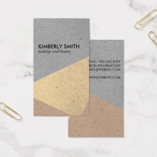 Modern Speckled Color Blocks Business Card