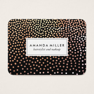 Modern Speckled Pattern Business Card
