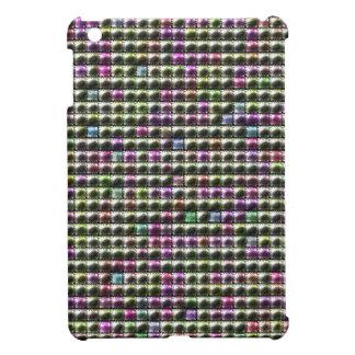 Modern square multicolored pattern cover for the iPad mini