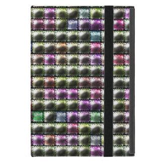 Modern square multicolored pattern iPad mini case