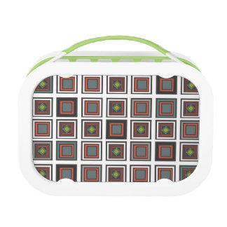 Modern Square Pattern 161 Lunch Box