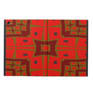 Modern square pattern cover for iPad air