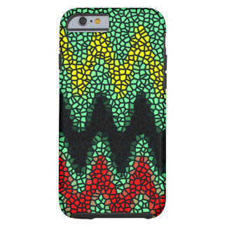 Modern stained glass tough iPhone 6 case