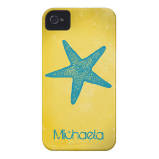 Modern Starfish Customizable iPhone 4 Cases