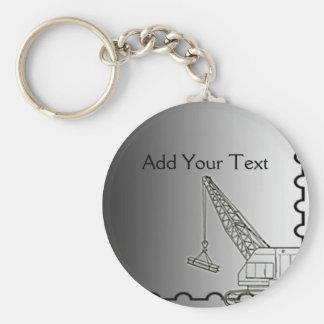 Modern Steel Construction Key Ring