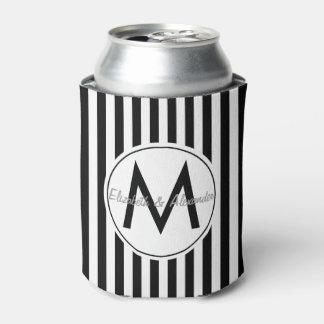 Modern Striped Monogram Custom