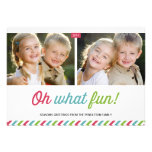 Modern Stripes   Holiday Photo Card Announcements