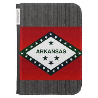 Modern Stripped Arkansan flag Kindle 3 Cases