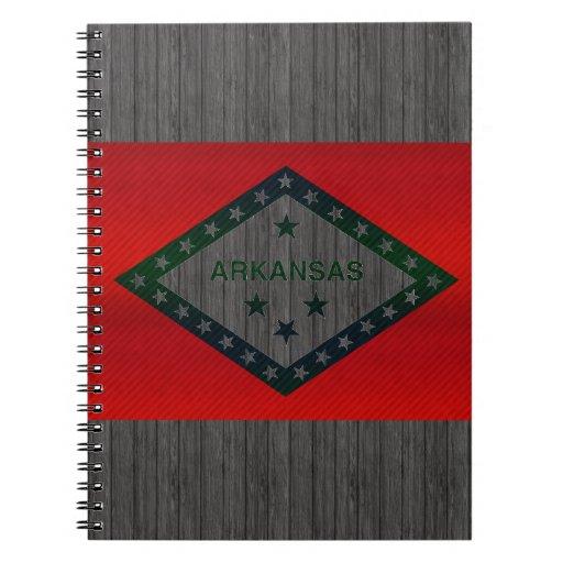 Modern Stripped Arkansan flag Journals