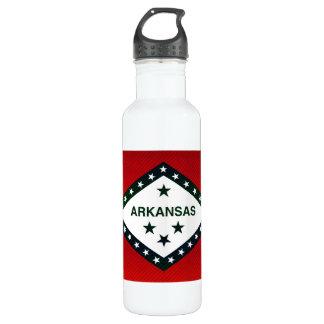 Modern Stripped Arkansan flag 710 Ml Water Bottle