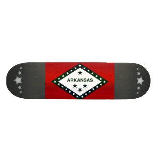 Modern Stripped Arkansan flag Skate Boards