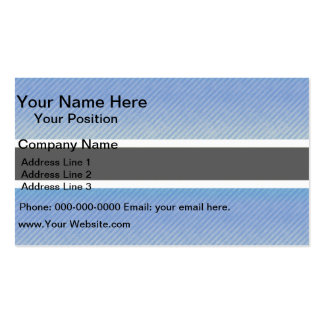 Modern Stripped Batswana flag Pack Of Standard Business Cards