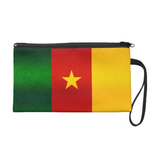 Modern Stripped Cameroonian flag Wristlets