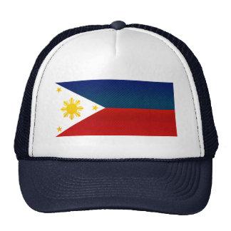 Modern Stripped Filipino flag Trucker Hat
