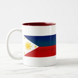 Modern Stripped Filipino flag Mug