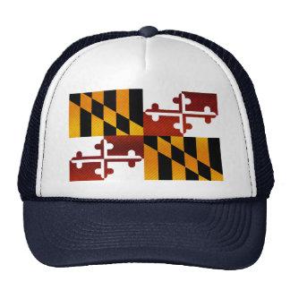 Modern Stripped Marylander flag Hats