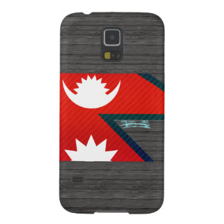 Modern Stripped Nepalese flag Galaxy S5 Cases