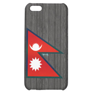 Modern Stripped Nepalese flag Case For iPhone 5C