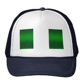 Modern Stripped Nigerian flag Trucker Hat