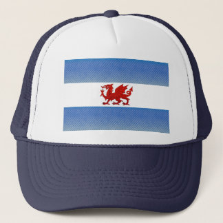 Modern Stripped Patagonian flag Trucker Hat