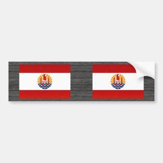 Modern Stripped Polynesian flag Bumper Sticker