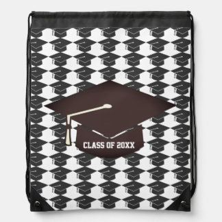 Modern Style Graduation Drawstring Backpack 1