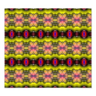 Modern stylish abstract pattern photograph