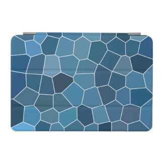 Modern Stylish Blue Pattern iPad Mini Cover