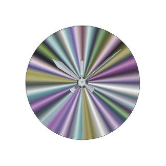Modern Stylish Multicolor Round Clock