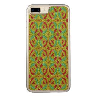 Modern stylish pattern carved iPhone 8 plus/7 plus case