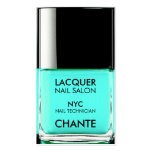 Modern stylish trendy turquoise nail polish chic pack of standard business cards