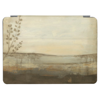 Modern Sunset Landscape Oil Painting iPad Air Cover