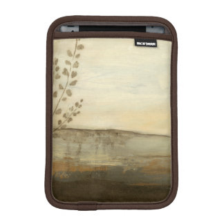 Modern Sunset Landscape Oil Painting iPad Mini Sleeve