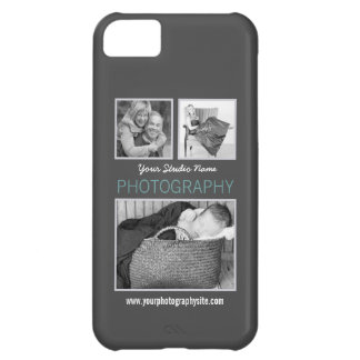 Modern Three Photos Photography Business iPhone 5C Case